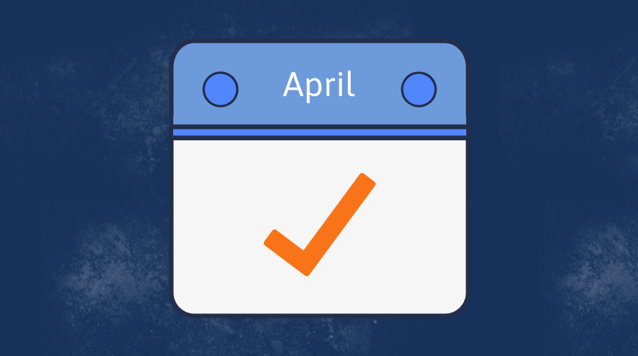 Infographic: HR Department Checklist for April