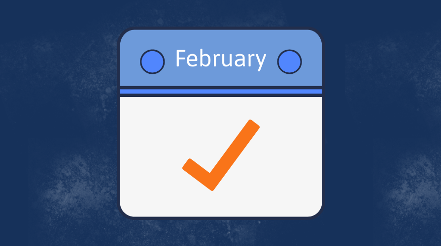 Infographic: HR Department Checklist for February