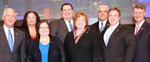 Trustees from Arlington ISD, Honor Board 2014.