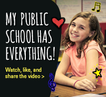 Outstanding Schools: My Public School has Everything!