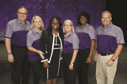 Superintendent of the Year and staff
