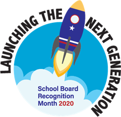School Board Recognition Month Logo